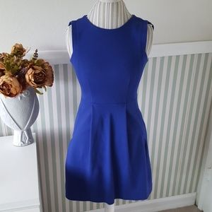 Madewell Royal Blue Fitted Causual dress Sz 0